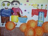 circle imaginations, Tin Yu, age:6