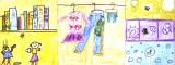 long paper - wardrobe, Ying, age:6