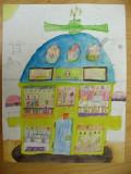 house design, Katie, age:7