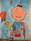 circle imaginations, Andy, age:5