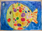 fish, Dorina, age:4