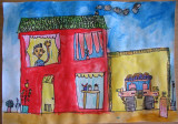 house, Carl, age:5