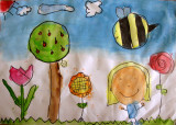 circle imaginations, Polly, age:6