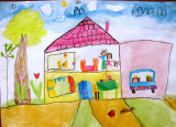 house, Lok Yan, age:5