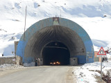 The Salang Tunnel built by the Russians opened in 1964