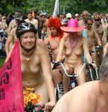 London  - world naked bike ride