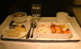Dinner at 37,000 feet!