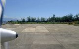 Loakan Airport end of runway 09, Baguio