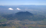 Mt. Arayat from 10,000 feet