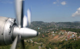 Final approach and descending, Baguio