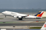 March 14, 2007.  Philippine 747 take-off from runway 28R