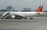 NAIA II tarmac to plane boarding.  RP-C3224