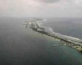 Approaching Majaro Airport( KMAJ) at the Majaro (Majuro) Atoll, Republic of the Marshall Islands.