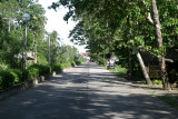 Two lane boulevard leading to Dipolog Airport