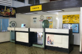Philippine Airlines (PAL) check-in counter