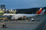 Parked at Int'l Terminal gate A4