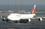 Exiting the active after landing  from Manila as PR904