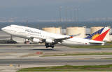PR905 lifts-off from runway 28R for Honolulu