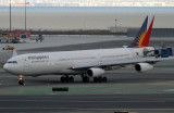 Exiting the runway and making a left onto taxiway Delta