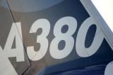 A380 tail shot
