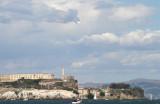 A380 & Alcatraz Island