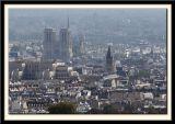 Notre Dame through the Haze