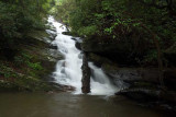 waterfall on Corbin Creek