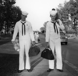 Sailors,  Heading Home for the weekend, in 1959