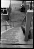 Barracks back steps, NAAS Whiting Field, 1959