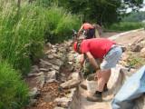 Starting the stonework