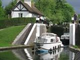 Approaching Denham Deep Lock