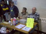 John VE3AUE Selling Food Tickets