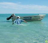 Runaway dinghy