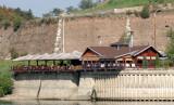 Non-Floating restaurant on Sava River