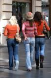 Three Ladies in Colours