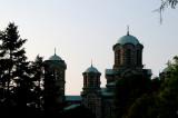 Church at sunset