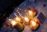 Candle centerpiece, Photo by Citlalli, Claudia Rodriguez Photography, www.claudiaphoto.com