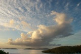 Cumulus over Cruz Bay