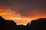 Sunset over Moab