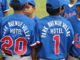 Baseball team gets new uniforms