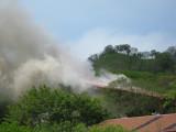 Fire at Dan and Cesars