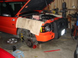 OME spring lift install