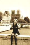 Mime artiste on the Petit Pont
