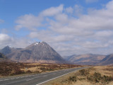 Rannoch Moor and Glen Etive, April 2007