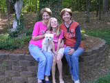 Mother's Day with my mom and daughter