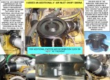 ADDITIONAL 4 INCH FRESH AIR DUCT.FOR CAT 3208 NA ENGINE