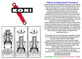 ADJUSTING YOUR KONI ADJUSTABLE SHOCKS GREATLY IMPROVES THE RIDE AS WELL AS THE HANDLING OF YOUR 'BIRD