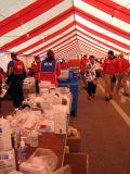 2006 Chicago Marathon finish line medical tent