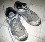 I love my Hardrocks!  I last wore these shoes at Western States 2005 and haven't needed trail shoes since then.
