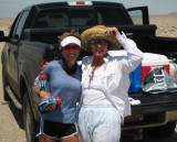 Memorial Day weekend training runs in Death Valley for Badwater 2007